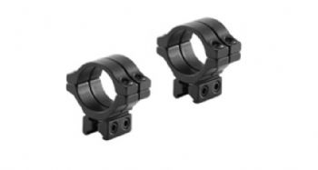 "BKL 304 Double Strap 30mm 3/8""-11mm Dovetail Rimfire & Air Rifle Scope Mount Rings - Medium/High"